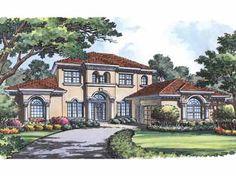 Stunning European Design (HWBDO11335) | Italianate House Plan from BuilderHousePlans.com