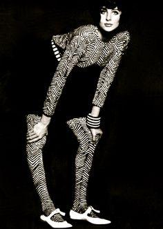 David Bailey photographed Jill Kennington1965