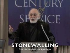 The Four Horsemen of the Apocalypse by Dr. John Gottman that can predict relationship disaster and even physical illness and disease are: Criticism, Contempt.