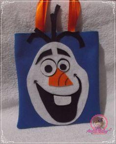 https://flic.kr/p/R7Lno7 | Sacolinhas surpresa Olaf - Frozen |  sacolas surpresas festa infantil aniversário temática decoração frozen Olaf