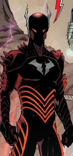 Red Death (Batman and Flash merged together) DC's Batman Metall