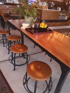 Restaurant stools and tables manufactured to customers specification. Restaurant Chairs, Stools, Tables, Dining Table, House, Furniture, Home Decor, Table, Benches