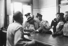 Martin Luther King Jr. arrested, Montgomery, Alabama,1958.