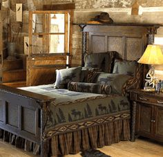 Primitive Rustic Inspirational Sign Country Home Decorebay » country cabin bed post image
