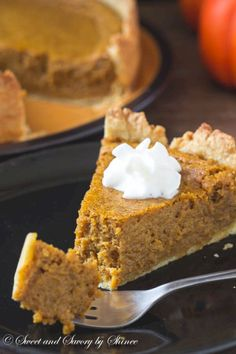 Not your traditional pumpkin pie, yet this pie is incredibly light and…