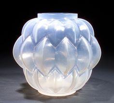 Rene Lalique Vase Nivernais  <3<3<3HIS WORK, SKILL & CREATIVITY ARE AMAZING<3<3<3 @