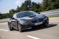 BMW i8 auf der Rennstrecke