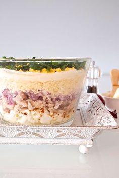 Polish Recipes, Tiramisu, Buffet, Oatmeal, Food And Drink, Cooking Recipes, Pudding, Menu, Snacks