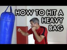 How to Hit a Heavy Bag for Beginners - YouTube