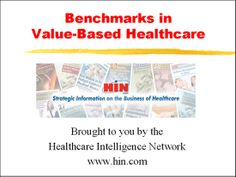 This presentation contains results from HIN's Health Coaching Survey, Care Transitions Survey and more. Included in this presentation are details on new players on the value-based healthcare team, patient-centered strategies to generate value-based reimbursement and reducing readmissions for value-based healthcare.