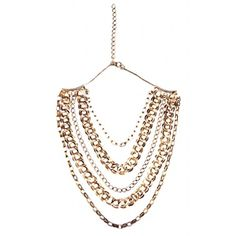 Gold-plated brass chain necklace by NY designer Diana Broussard. Available on Marilicious! 50% off