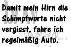 #schimpfworte #auto