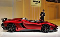 """The Aventador J is a one-of-a-kind convertible, """"street-legal work of art,"""" as Lamborghini calls it."""