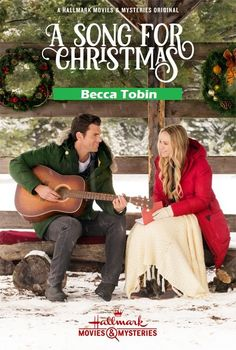 A+Song+for+Christmas+2017+DVD+TV+Movie+Hallmark+Romance+Becca+Tobin