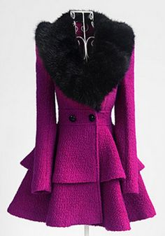 Perfect winter coat! Next one I buy has to be this shape. Puts my boxy wool coats to shame!