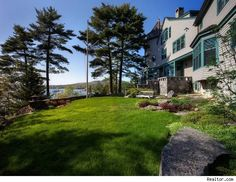The winner of last week's #housepornthurs! See more photos http://realestate.aol.com/blog/2012/08/09/blue-hill-maine-mansion-commands-4-3-acres-of-jaw-dropping-wat/