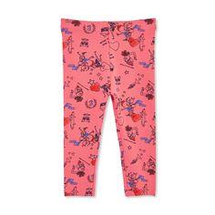 d3127adadc Joe Fresh Baby Girls  Print Legging - Dark Blush 12-18 Joe Fresh Baby
