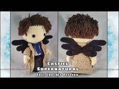Supernatural - Castiel - Free Crochet Pattern Addon • ArtisticGami