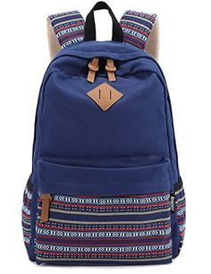 Leaper Causal Style Lightweight Canvas Laptop Bag/ Shoulder Bag/ School - Click image twice for more info - See a larger selection of school backpacks at http://kidsbackpackstore.com/product-category/school-backpacks/ - kids, kids backpack, school backpack, everyday backpack, school bag, gift ideas, teens backpacks.