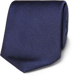 Turnbull & AsserRibbed Silk Tie