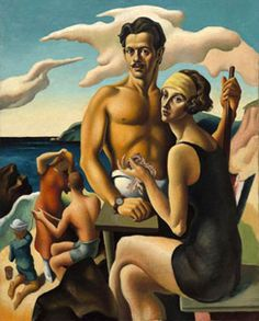 Youth and Beauty: Art of the American Twenties, Thomas Hart Benton