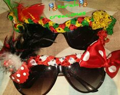 Gafas decoradas carnaval Ideas Para Fiestas, Party Props, Carnival, Crochet, Womens Fashion, How To Wear, Costumes, Women's, Jewelry Necklaces