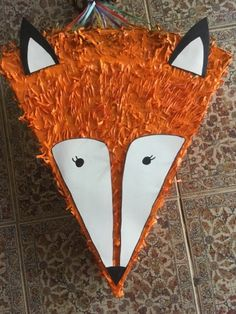 DIY Fox party piñata tutorial