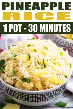 PINEAPPLE RICE RECIPE Best quick easy healthy vegetarian vegan fried rice recipe homemade in one pot with simple ingredients over stovetop This sweet and spicy 30 minute. Best Dinner Recipes, Side Dish Recipes, Best Rice Recipe, Pot Recipe, Sweet Rice Recipe Easy, Simple Rice Recipes, Healthy Rice Recipes, Vegetarian Recipes Videos, Rice Dishes