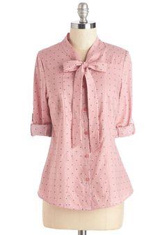 Sharp Style Top | Mod Retro Vintage Short Sleeve Shirts | ModCloth.com