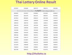 Thailand Lottery Result of 2018 March 02 just check online chart #thailotto #thailandlotteryresult, #thailottoresult, #thailotteryresult