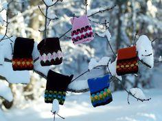 Cloisonee mittens by Stephanie Pearle-McPhee.