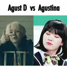 More like Agust D vs Agust V