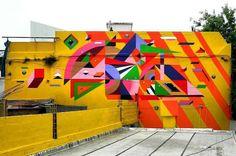 """288 curtidas, 2 comentários - @tschelovek_graffiti no Instagram: """"""""Transformación de la Materia"""" by @samelgrecoin Buenos Aires, Argentina for @color_ba #colorba…"""""""