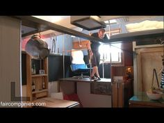"Take a tour of Steve Sauer's 182 sq ft tri-level,  a self-built ""pico-dwelling"" in Seattle. The tiny triplex, built in a converted storage area, has the level of intricacy you'd expect from a Boeing engineer, Sauer's day job. (AWESOME Fair Companies video tour.)"