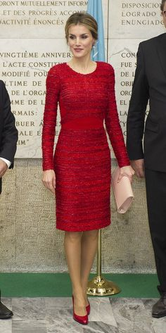 Queen Letizia of Spain at the FAO headquarter for the Second International Conference on Nutrition in Rome, Italy. 20 November 2014
