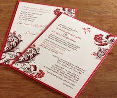 bilingual wedding invitation ideas