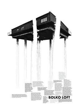 Posters by Ksymena Borczyńska, via Behance