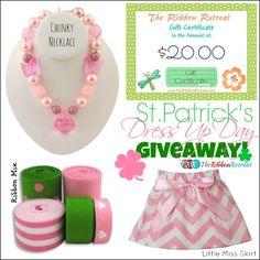 St. Patrick's Dress Up Day Giveaway! - The Ribbon Retreat Blog