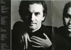 """Víctor Manuel, escritor de canciones: Fragmento del Interior desplegado del estuche de """"Para la ternura siempre hay tiempo""""."""
