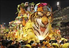 Animal float at Brazil's Carnival!
