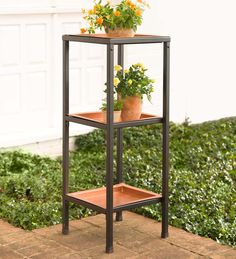 3-Tier Plant Stand | Deocrative Plant Stands | Plow