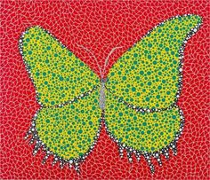 Butterfly - Yayoi Kusama
