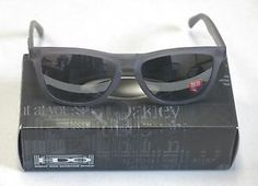 Oakley Sunglasses  OO2043-10 Frogskins LX Satin Smoke w/Black Irid NEW! 31506 - $21.50 - http://www.12pmsunglasses.com/on-sale/Oakley-Frogskins-LX-Sunglasses.html