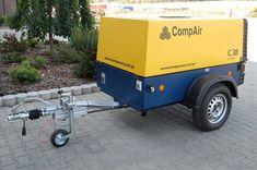 Použitý pojízdný kompresor Compair C38
