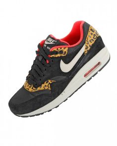 Airmax Butyairmax1, Fashion Sneakers, Airmax1 Leopardpack, Discount Nikes, Air Max, Black Nikes