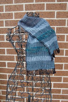 Hand-woven Scarf. $35.00, via Etsy.