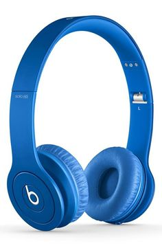 Beats by Dr. Dre Blue Headphones