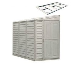 Duramax Outdoor Storage Sheds 30214 10 5x8 Woodside