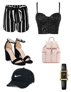 """Untitled #5"" by maria-daria-i on Polyvore featuring Venus, Nasty Gal, NIKE and Fendi"