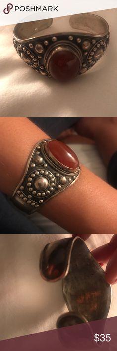 Moroccan SILVER bracelet Silver - adjustable Jewelry Bracelets